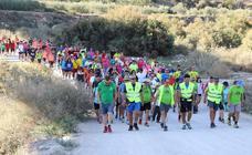 Más de 650 senderistas caminan hasta el Cejo de los Enamorados