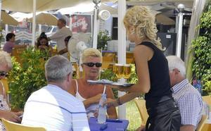 El empleo turístico en la Región experimentó este verano el tercer mayor aumento del país