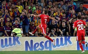 El Girona se le atraganta al Barça con un doblete de Stuani