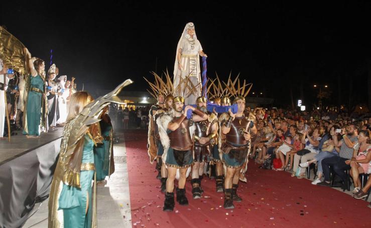 Las Bodas de Aníbal e Himilce 'llenan' el nuevo escenario