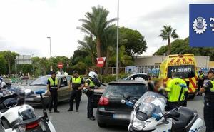 Detenido tras chocar contra otro coche y cuadruplicar la tasa de alcoholemia en Murcia