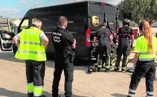 Rescatan a un repartidor con un golpe de calor tras quedar atrapado en su furgoneta