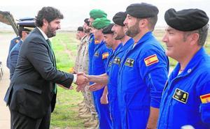 La Escuela de Paracaidismo abre el curso con 70 años de prestigio a sus espaldas