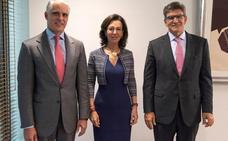 Botín: La llegada de Orcel no va a cambiar la estrategia del banco «porque la tenemos clara»