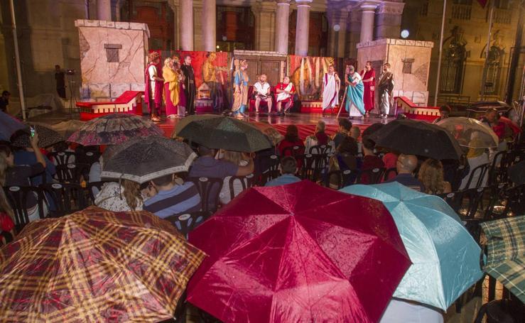 Roma impone su ley con paraguas