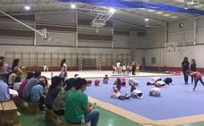 30 jóvenes se dan cita en la jornada de gimnasia rítmica de los Juegos del Guadalentín