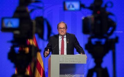 Quim Torra replica a Pedro Sánchez que el conflicto lo provoca el Estado
