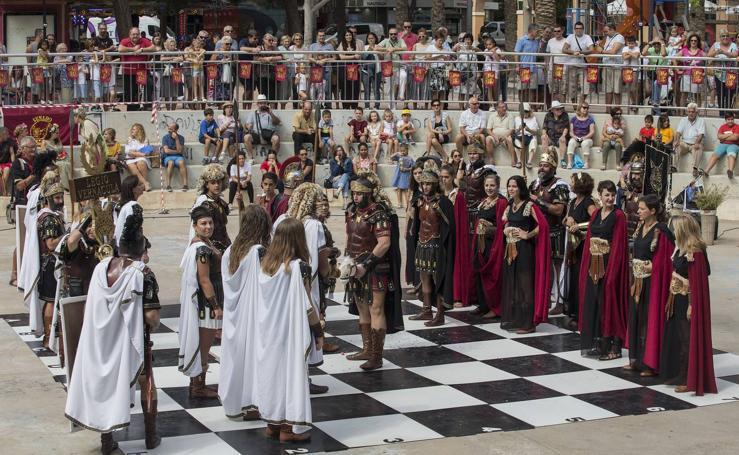 Unas fiestas de película en Cartagena