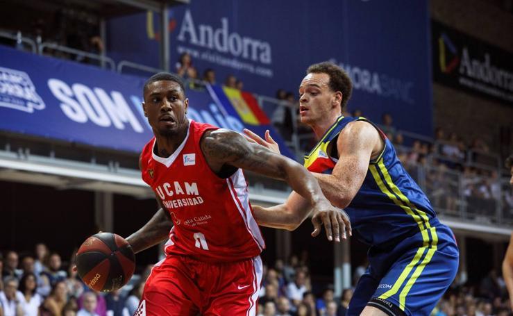 El UCAM CB pierde por la mínima en Andorra