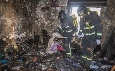 Dieciséis heridos, entre ellos una mujer grave y un menor, en un incendio en Cartagena