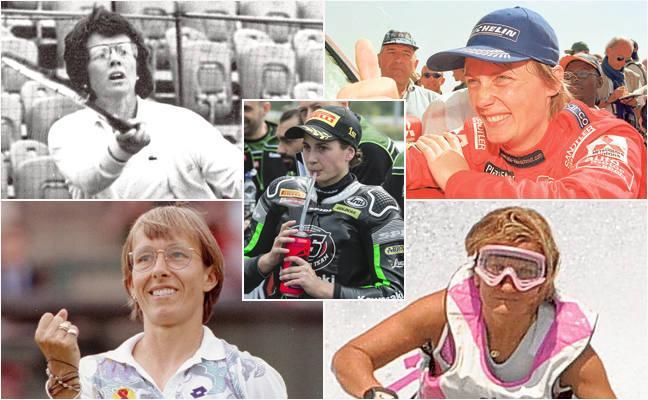 Mujeres que ganaron a hombres