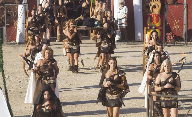 Andros logra su deseada libertad en el Circo Romano