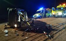Dos heridos graves en un accidente de tráfico en Fuente Álamo