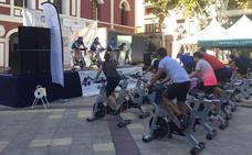 La Plaza de Calderón se convierte en un gimnasio al aire libre