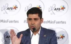 Aganzo: «Los jugadores no van a ir a esos partidos en Estados Unidos»