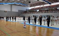 Más de un centenar de luchadores participan en la Exhibición de Kárate de los Juegos del Guadalentín