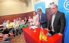 La gestora del PP de Cieza se fija como principal reto «volver a cohesionar al partido»