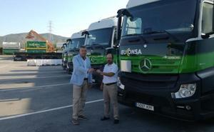 Comercial Dimovil aumenta la flota de camiones de Euconsa