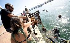 Más de 250 submarinistas limpiarán los fondos marinos de Cabo de Palos y Mazarrón