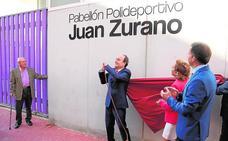El ciclista Juan Zurano da nombre al nuevo pabellón de los institutos