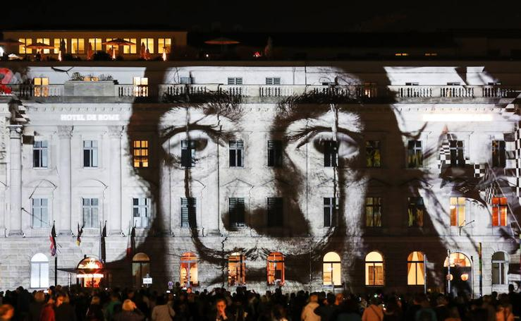 Festival de luces en Berlín