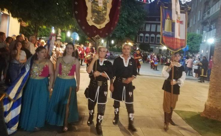 Kábilas y mesnadas se estrenan en las calles de Molina