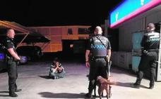 La Unidad Canina confisca en Jumilla mil dosis de droga en cuatro meses