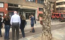 Extinguen un conato de incendio en el centro universitario Isen