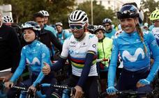 Alejandro Valverde, a por el trono de Urán en la Milán-Turín