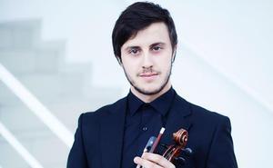 El violinista murciano Páll Palomares