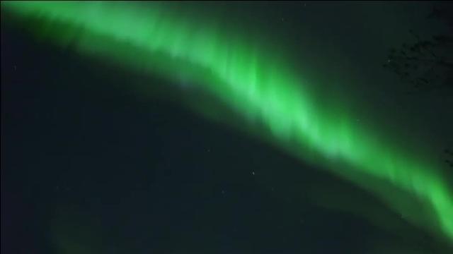 El hipnotizante espectáculo de la aurora boreal