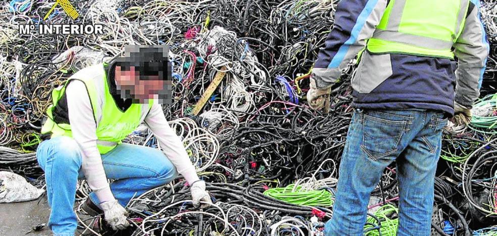 La juez tumba el caso de «la mayor trama de tráfico de cobre robado» en la Región
