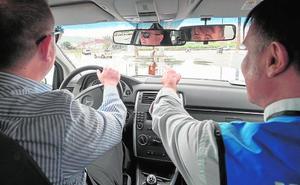 Conducir a ciegas... solo por un día