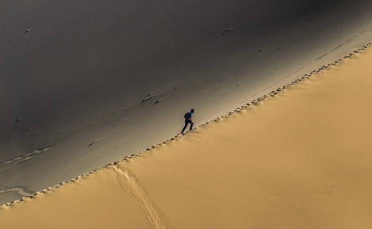 Un oasis entre dunas
