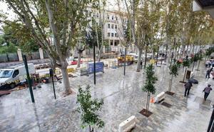 El paseo Alfonso X de Murcia tendrá una cámara con lectura de matrículas de coches autorizados