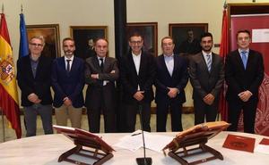 Cuatro nuevos vocales del Consejo Social de la Universidad de Murcia toman posesión