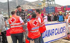 Cruz Roja pide la cesión del Hospital Naval de Cartagena para responder a las oleadas de pateras