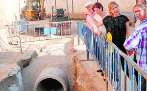 Un nuevo colector acabará con el problema de la evacuación de aguas en una pedanía de Molina
