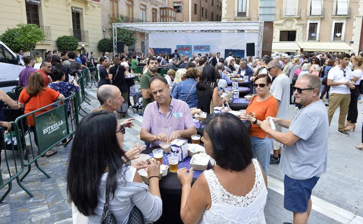 El I Encuentro Gastronómico del Langostino calienta motores en Murcia