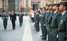 La Guardia Civil celebra su Patrona en Murcia
