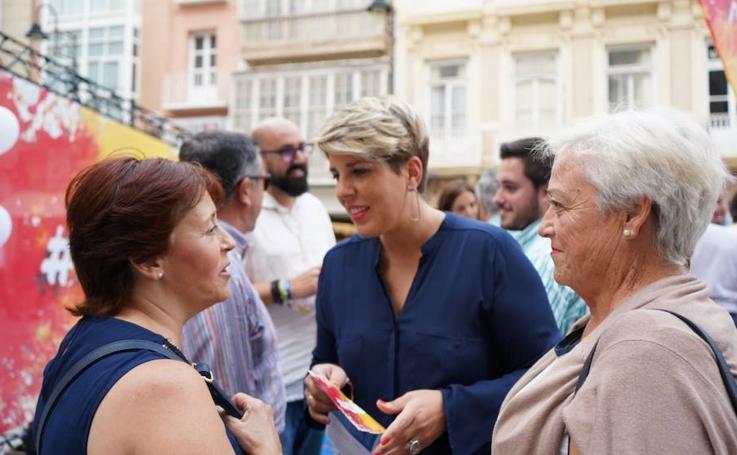 El PP empieza a movilizar a sus votantes en Cartagena
