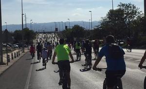 Más de 1.500 ciclistas festejan el 40 aniversario de los Juegos Deportivos del Guadalentín