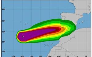 El huracán 'Leslie' podría dejarse sentir el domingo en la Región como tormenta tropical