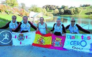 Cinco atletas cartageneros, en la maratón de Múnich