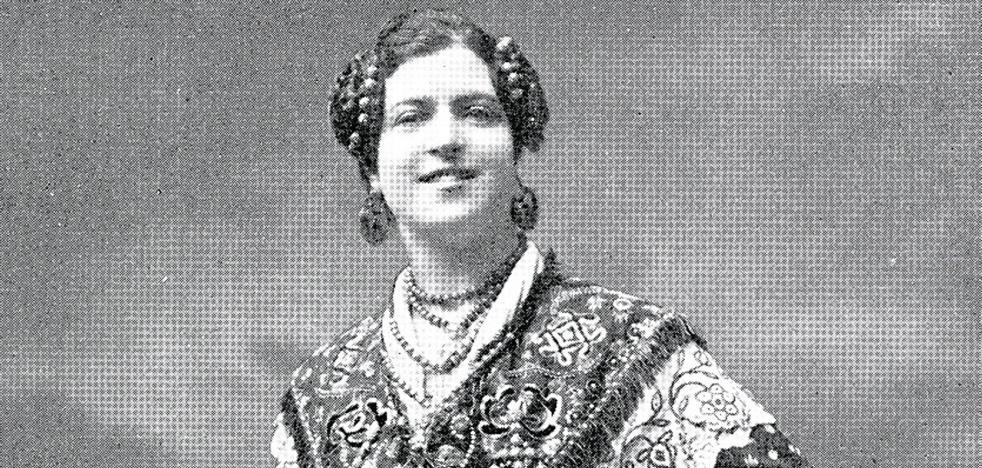 La reina de los mantones que acabó de cerillera