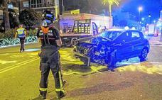 Dos heridos graves y uno leve en un choque múltiple en Juan Carlos I