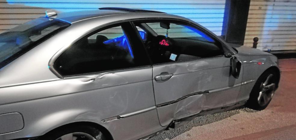 Detenido con un coche robado tras una persecución de varios kilómetros en Los Alcázares