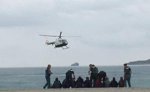 Una cuarta patera en Cabo de Palos eleva a 47 los inmigrantes llegados a la Región en 24 horas