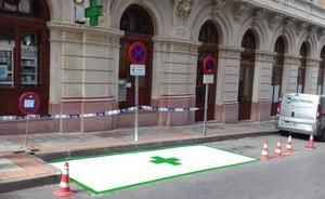 La Unión señala el primer aparcamiento reservado gratuito para usuarios de las farmacias