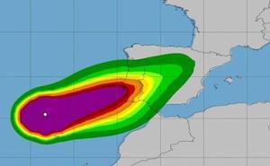 Alerta amarilla por lluvias y viento fuerte ante la posible llegada de la cola del huracán 'Leslie'